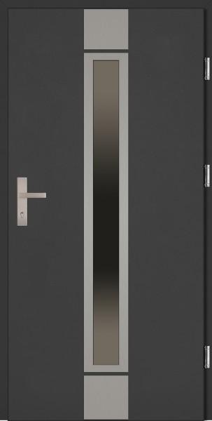 Drzwi wejściowe antracyt Alfredo Plus Grande Plus SETTO