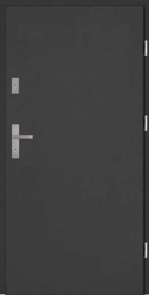 Drzwi zewnętrzne antracyt Pełne Classico SETTO