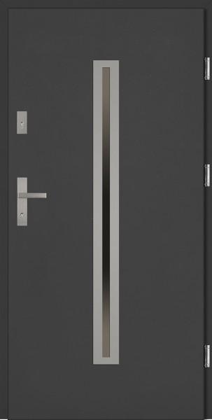 Drzwi stalowe antracyt Paolo Classico SETTO