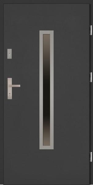 Drzwi wejściowe antracyt Dario Classico SETTO