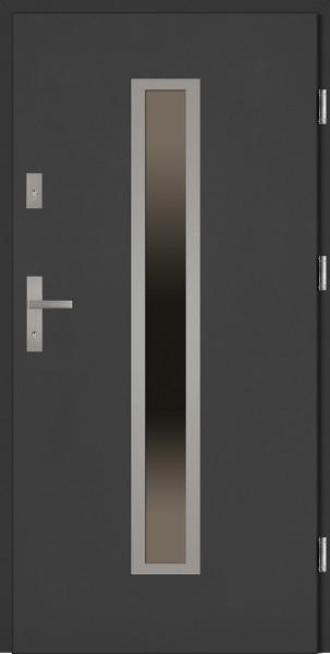 Drzwi stalowe antracyt Diego Classico SETTO