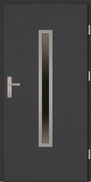 Drzwi wejściowe antracyt Dario Plus SETTO