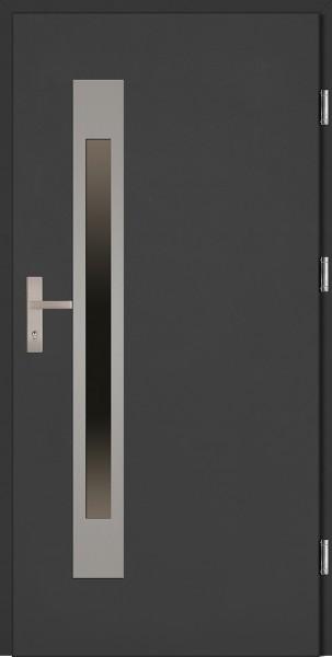 Drzwi wejściowe antracyt Fabio Uno Plus SETTO