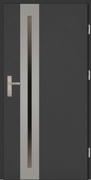 Drzwi wejściowe antracyt Matteo Uno Plus SETTO