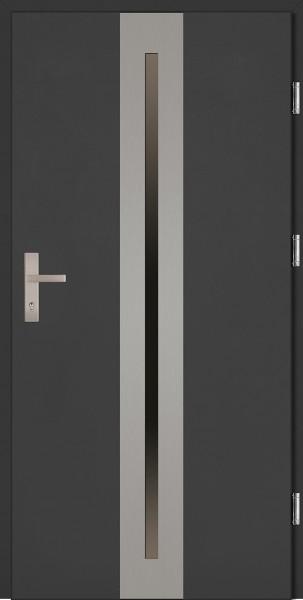 Drzwi wejściowe antracyt 90 cm Matteo Plus SETTO