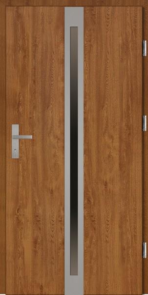 Drzwi wejściowe złoty dąb Marcello Plus SETTO