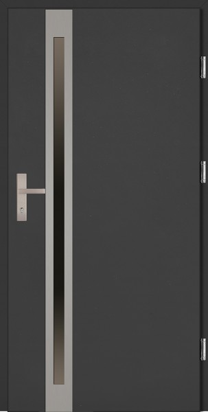 Drzwi wejściowe antracyt Marcello Uno Plus SETTO