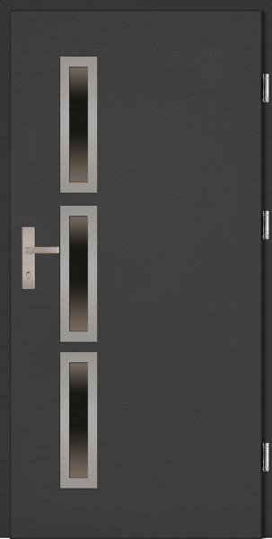 Drzwi wejściowe antracyt Valentino Uno Plus SETTO