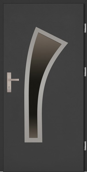 Drzwi wejściowe antracyt Leonardo Plus SETTO