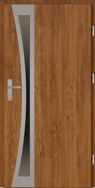 Drzwi wejściowe złoty dąb Ivo Uno Plus SETTO
