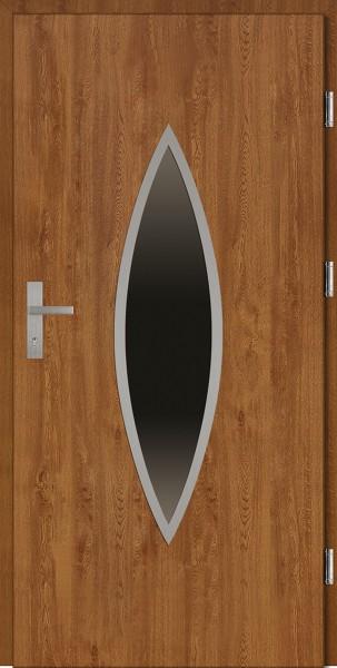 Drzwi wejściowe złoty dąb Ernesto Plus SETTO