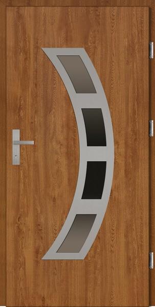Drzwi wejściowe złoty dąb Ricardo Plus SETTO