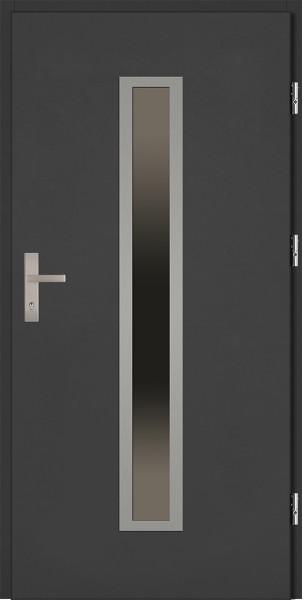 Drzwi zewnętrzne antracyt Diego 92 SETTO