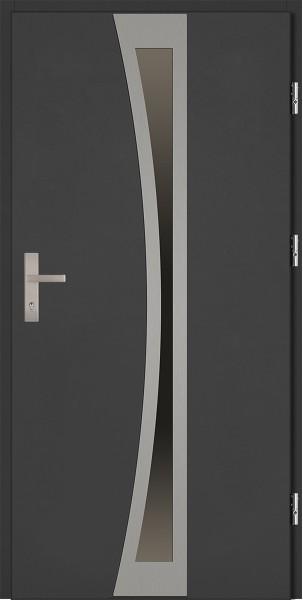 Drzwi zewnętrzne antracyt Ivo 92 SETTO