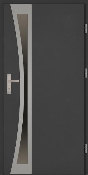 Drzwi zewnętrzne antracyt Ivo Uno 92 SETTO