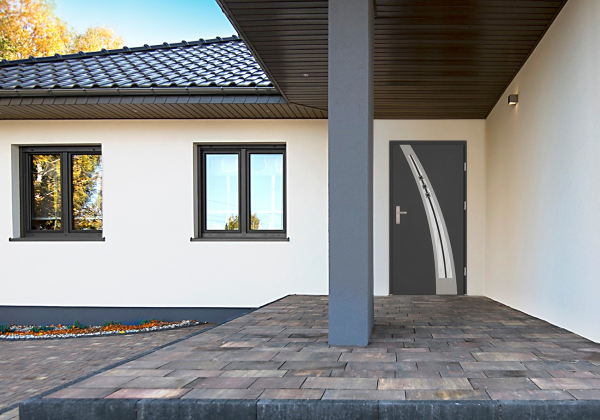 Drzwi wejściowe model Enrico DIP z kolekcji Grande Plus