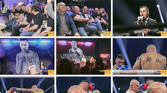 KnockOut Boxing Night 6 - DIABLO kontra Alexandru Jur