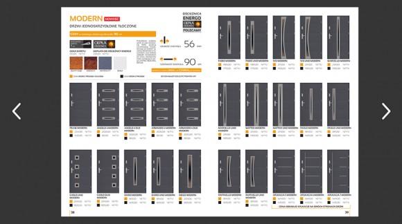 Katalog drzwi zewnętrznych stalowych SETTO - wydanie 2019 edycja I