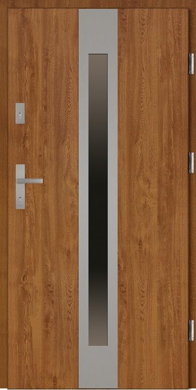 Rewelacyjny Drzwi stalowe 80 cm, 90 cm, 100 cm z kolekcji Classico model Sergio SV75